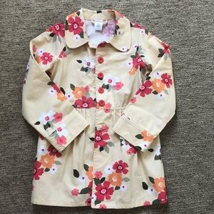 Floral Peacoat